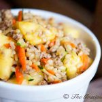 Clean Eating Curry Pineapple Turkey Rice Bowl Recipe