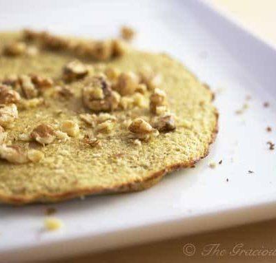 Clean Eating 2 Ingredient Baked Pancake