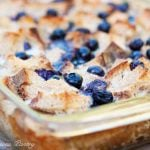 Clean Eating Blueberry French Toast Casserole Recipe