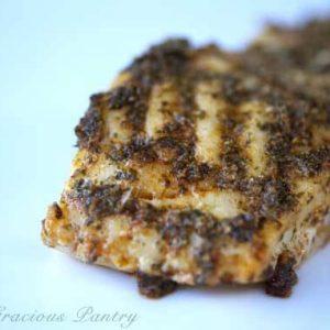 Clean Eating Charmoula Cod
