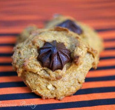 Clean Eating Chocolate Chip Walnut Pumpkin Cookies