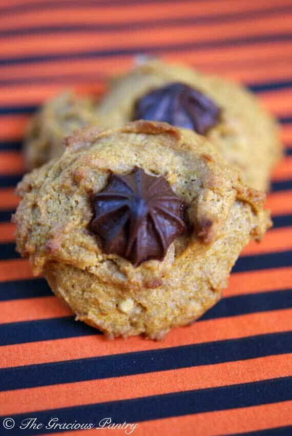 Clean Eating Chocolate Chip Walnut Pumpkin Cookies Recipe