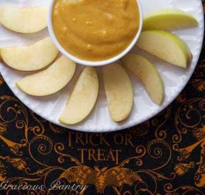 Clean Eating Pumpkin Fruit Dip