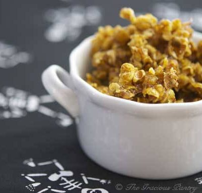 Clean Eating Pumpkin Candied Popcorn