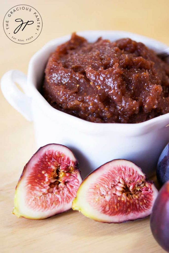 Clean Eating Fig Butter Recipe