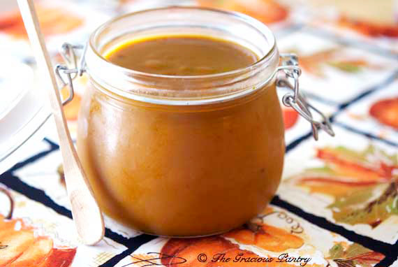 Clean Eating Pumpkin Butter Recipe Served