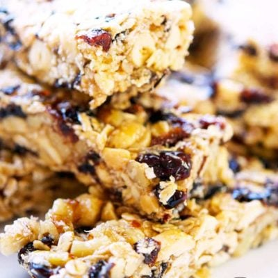 Clean Eating Nutty Coconut Granola Bars Recipe