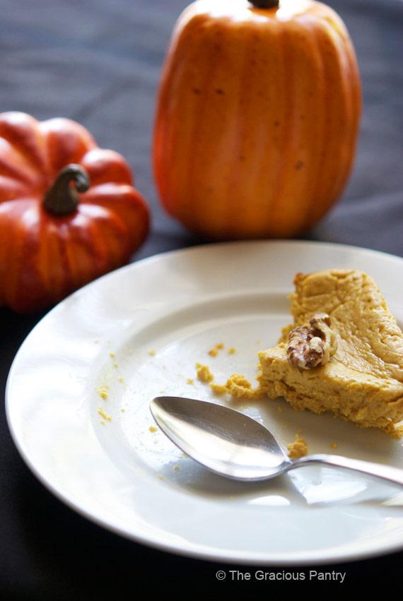 Clean Eating Pumpkin Cheesecake Recipe