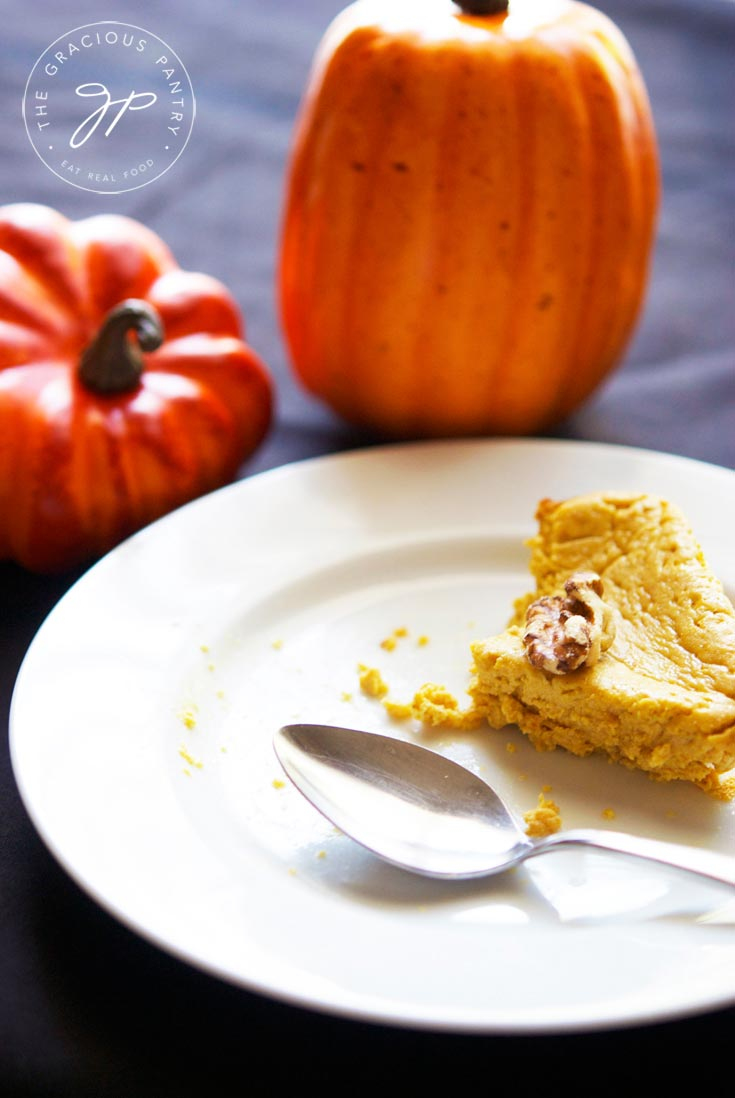 Clean Eating Pumpkin Cheesecake Recipe