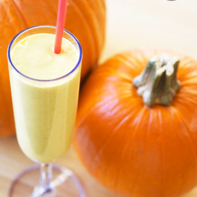 Pumpkin Pie Oatmeal Smoothie Recipe