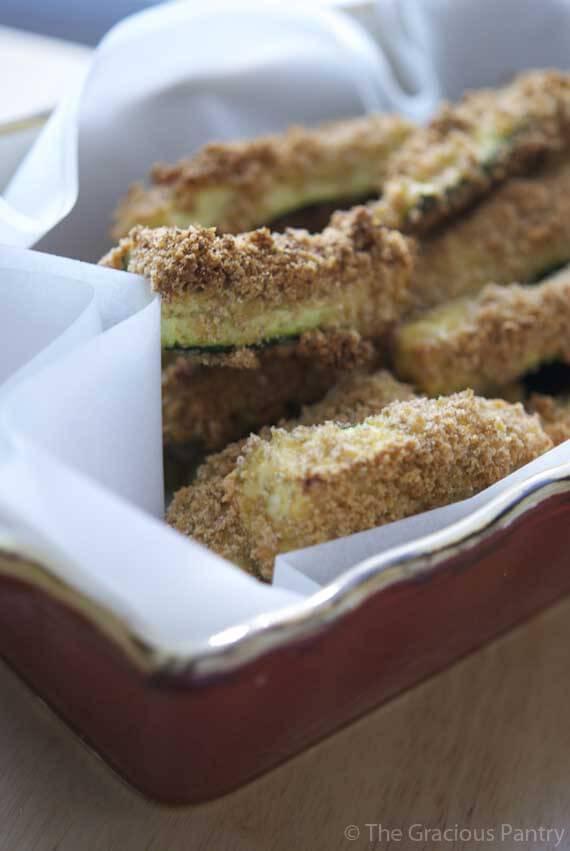 Clean Eating Zucchini Sticks