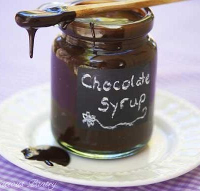 Clean Eating Chocolate Syrup Recipe