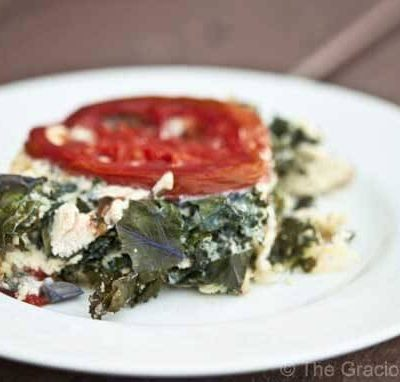 Clean Eating Leftover Turkey & Super Greens Frittata