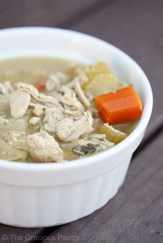 Clean Eating Leftover Turkey Soup