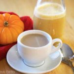 Clean Eating Pumpkin Pie Coffee Creamer
