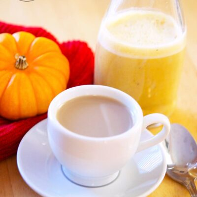 Pumpkin Spice Coffee Creamer Recipe
