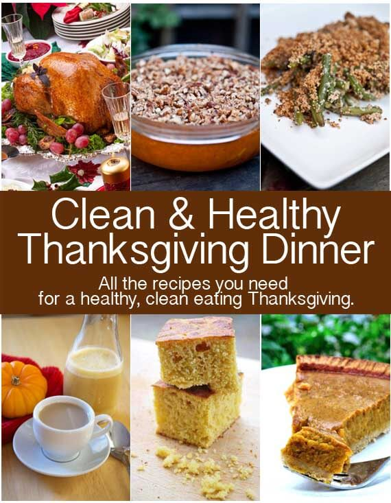 Clean Eating Thanksgiving Dinner
