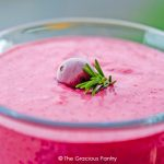 Clean Eating Cranberry Banana Smoothie Recipe