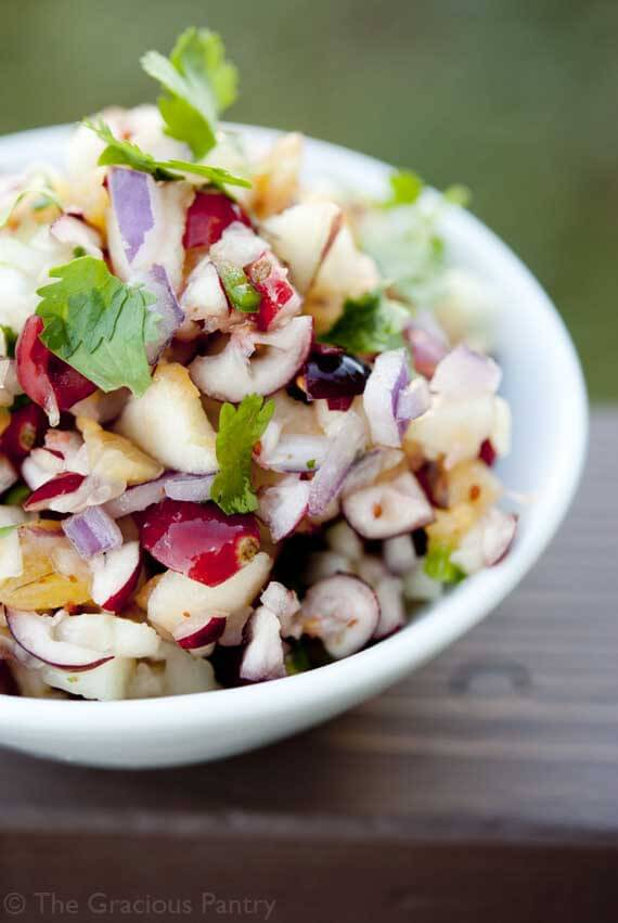 Clean Eating Cranberry Salsa
