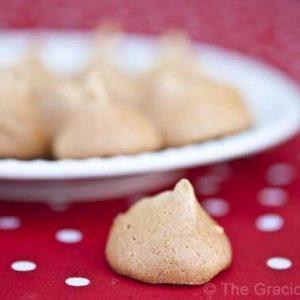 Clean Eating Meringue Cookies
