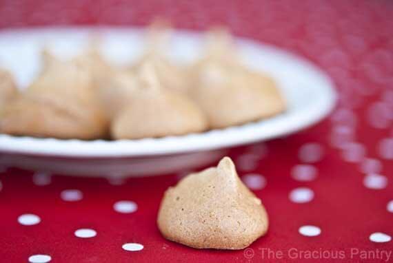 Clean Eating Meringue Cookies Recipe
