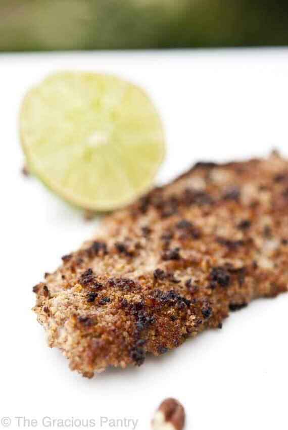 Clean Eating Pecan Crusted Dover Sole