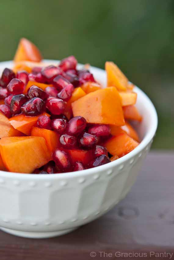 Clean Eating Winter Harvest Fruit Salad Recipe