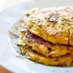 Clean Eating Cauliflower Fritters Recipe