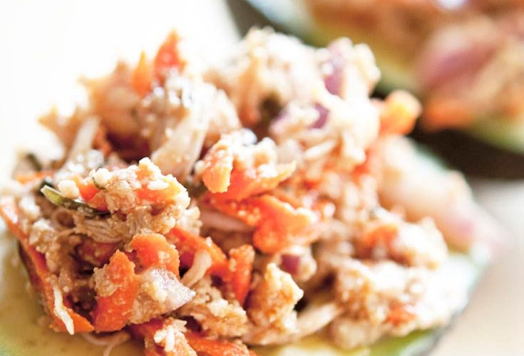 Clean Eating Chicken Avocado Salad Recipe