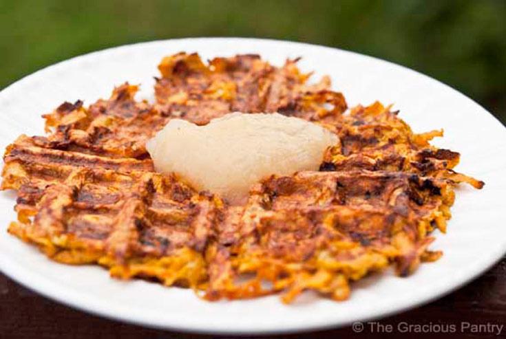 Clean Eating Sweet Potato Waffles Recipe Ready To Eat
