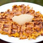Clean Eating Sweet Potato Waffles Recipe