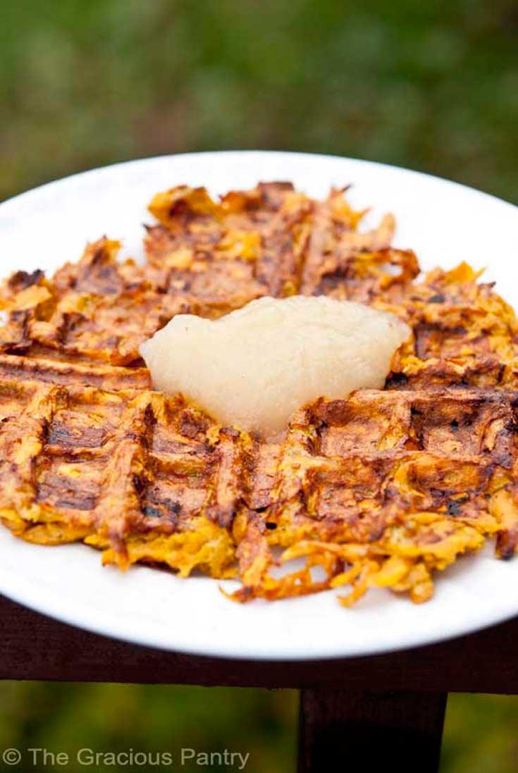 Clean Eating Sweet Potato Waffles Recipe