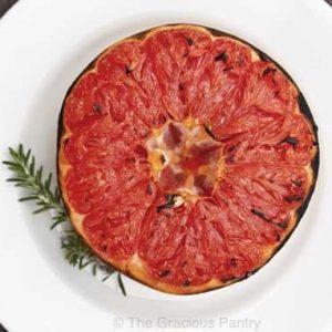 Clean Eating Broiled Honey Grapefruit
