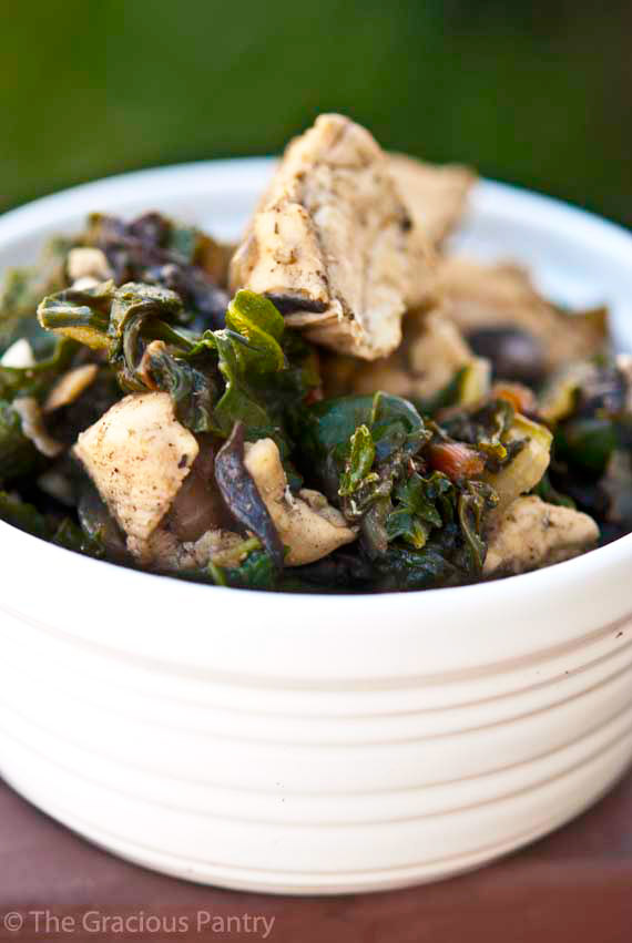 Clean Eating Chicken & Chard Recipe