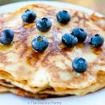 Clean Eating Gluten Free Coconut Pancakes Recipe