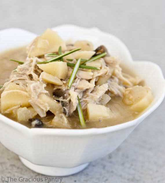 Clean Eating Chicken & Parsnip Soup