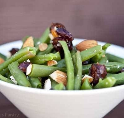 Clean Eating Cranberry Green Bean Salad
