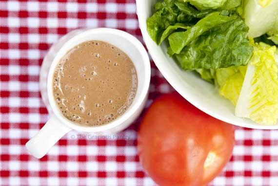 Balsamic Garlic Cashew Dressing Recipe