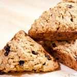 Clean Eating Cinnamon Raisin Mini Scones Recipe