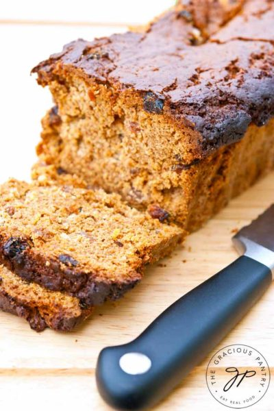 Clean Eating Irish Spice Bread Recipe
