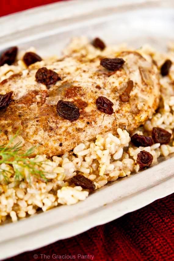 Clean Eating Slow Cooker Biriyani Chicken Recipe
