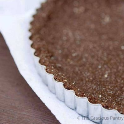 Clean Eating Grain Free Chocolate Pie Crust Recipe