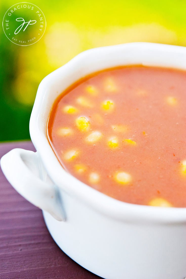 Clean Eating Refried Bean Soup Recipe