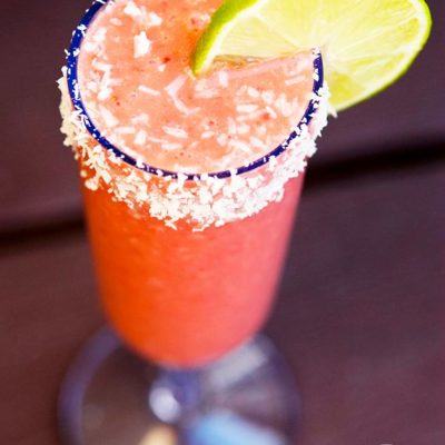 Strawberry Daiquiri Smoothie Recipe