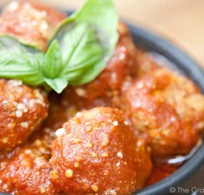 Clean Eating Slow Cooker Italian Style Meatballs Recipe