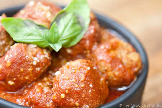 Slow Cooker Italian Meatballs Recipe