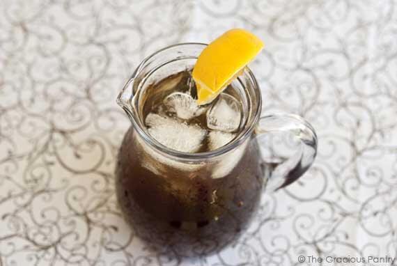 Homemade Sweet Tea Recipe