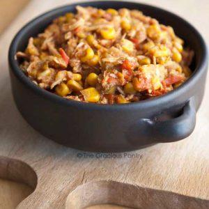 Clean Eating Slow Cooker Tortilla Chicken Stew Recipe
