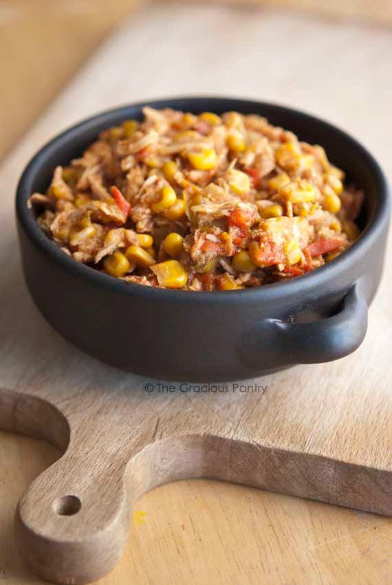 Slow Cooker Tortilla Chicken Stew Recipe