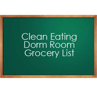 Dorm Room Grocery List